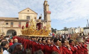 El Cristo de la Humildad irá a la Catedral el día 4 en el trono de Pentecostés de la Virgen del Rocío