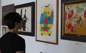 La Policía Nacional inaugura en Málaga una exposición con obras falsificadas