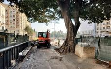 La Junta comienza a pavimentar el último tramo de la Alameda Principal
