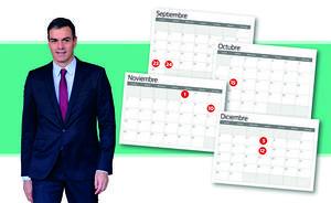 Calendario | Las fechas clave hasta el 10-N