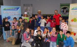 Mercamálaga fomenta la alimentación saludable con un programa de visitas escolares
