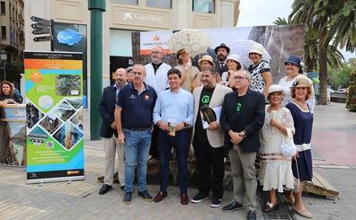 El Caminito del Rey se 'instala' en calle Larios durante su campaña por ser patrimonio de la humanidad