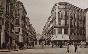 La Alameda de Pablo Iglesias y la calle 14 de Abril en las postales de Roisin