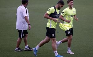 Hugo y Gonzalo, novedades en la convocatoria del Málaga