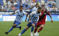 El Málaga empata con el Rayo