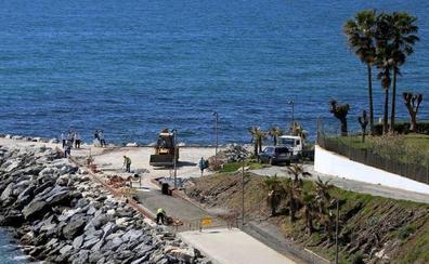 Benalmádena concluirá las obras del Paseo Marítimo de Torrequebrada