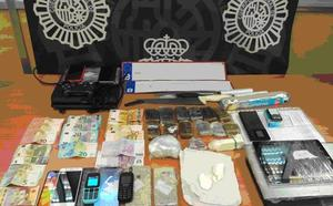 Detenido por alquilar un trastero como almacén de drogas y objetos robados en el centro de Málaga