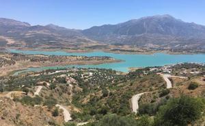 El embalse de La Viñuela roza ya el umbral de sequía