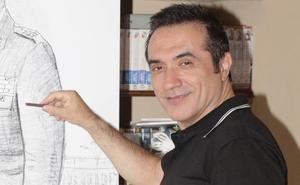Antonio Montiel centra en la mirada de Felipe VI la fuerza de su retrato oficial para el Ejército