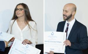 Dos titulados de la Universidad, premios nacionales de Telecomunicación