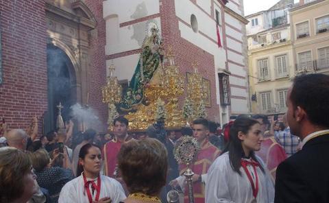 Tres procesiones en la agenda cofrade del fin de semana en Málaga