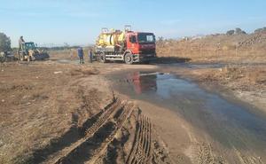 Una avería provoca un vertido de aguas fecales en Arraijanal