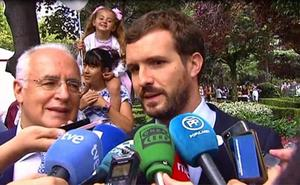 Casado acusa a Sánchez de chantajear por pagar la deuda a las autonomías en campaña