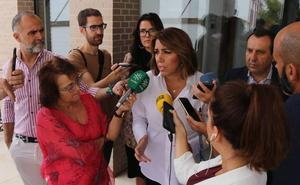Susana Díaz pide incentivos para las empresas cárnicas de Benaoján tras la alerta sanitaria por listeriosis