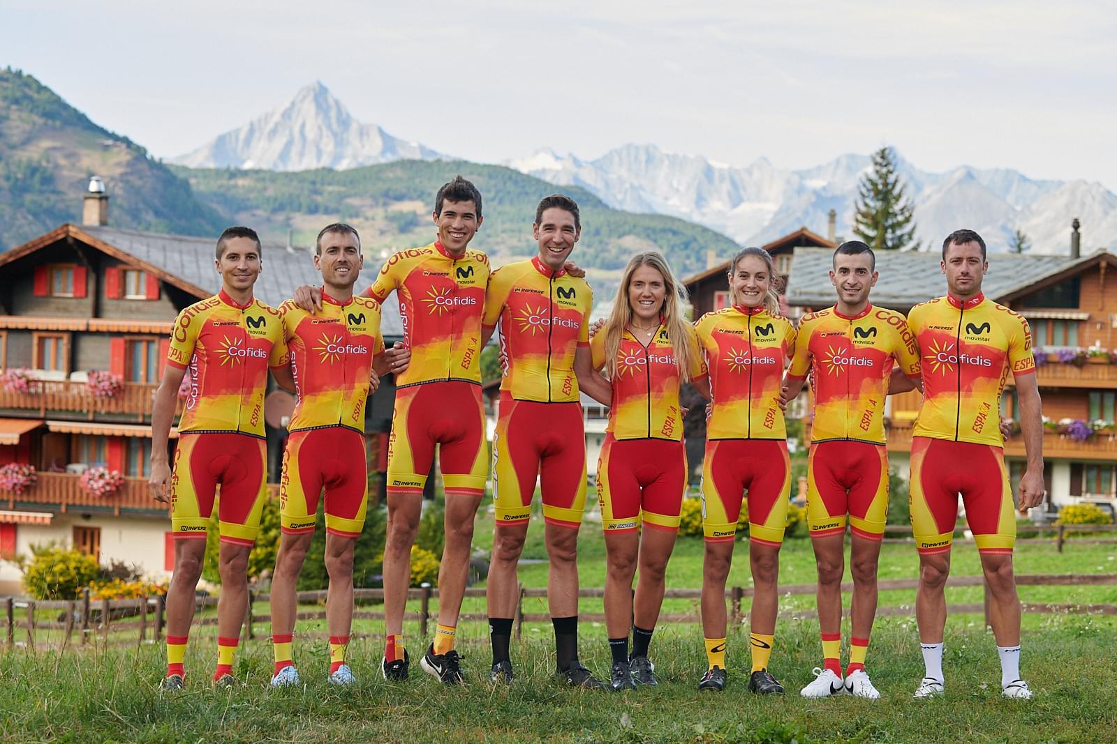 Buen papel de Natalia Fischer y Pablo Guerrero en el Mundial de ciclismo de montaña