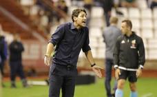 Víctor insiste en el mensaje: «Nos cuesta muchísimo marcar goles»