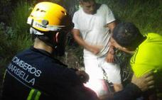 Rescate nocturno de dos excursionistas en La Cocnha