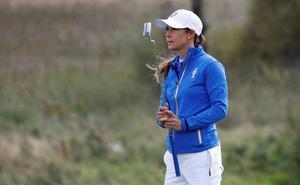 Azahara Muñoz, quinta al final en el Lacoste Ladies Open de Francia