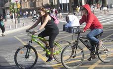 17 Día de la Bici en Málaga