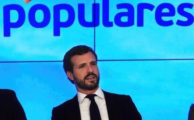 Casado apela al patriotismo de Rivera para que Ciudadanos pacte con el PP