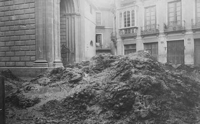 Así fue la gran riada de Málaga