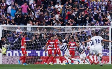 Valladolid y Granada firman tablas en Zorrilla