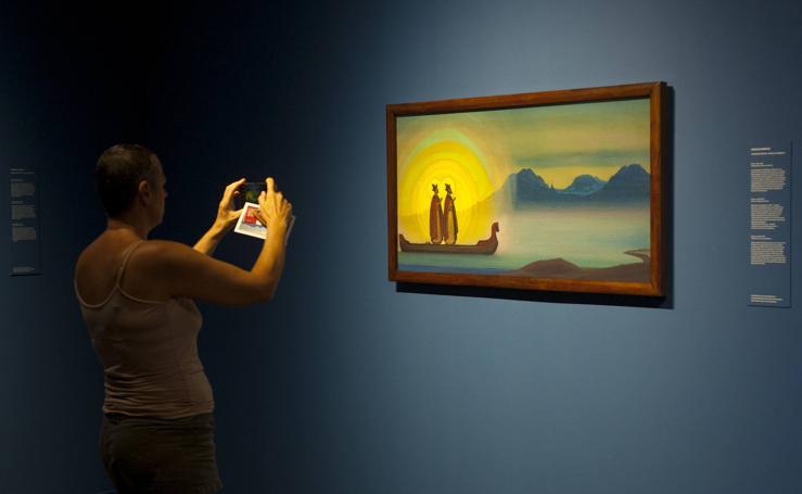 El humanismo místico de Nikolái Roerich toma el Museo Ruso