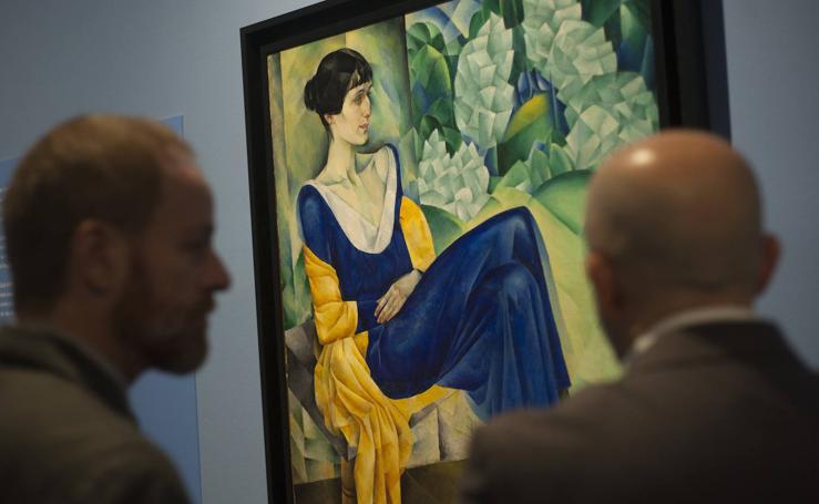 El Museo Ruso dedica una exposición a la figura de la poeta Anna Ajmátova
