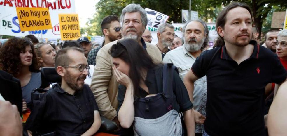 Errejón provoca en Murcia la primera gran deserción en Podemos