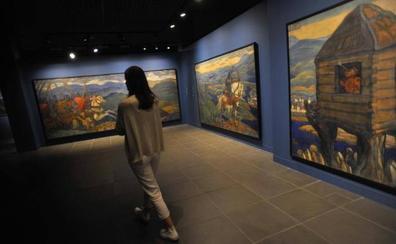 El Museo Ruso despliega el humanismo místico de Nikolái Roerich
