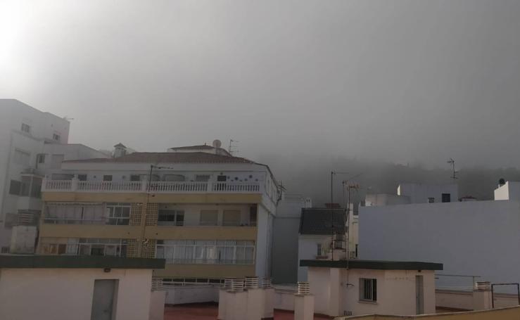 La niebla obliga a desviar varios vuelos en el Aeropuerto de Málaga