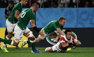 Japón dinamita todos los pronósticos con su victoria sobre Irlanda