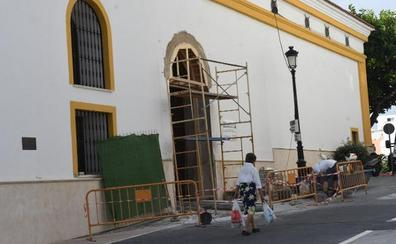 La iglesia de San Pedro tendrá una nueva puerta lateral para evitar aglomeraciones