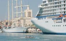 La temporada alta de cruceros arranca en Málaga con más pasajeros y barcos de lujo