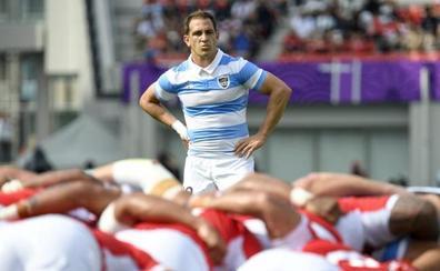 Benjamín Urdapilleta, de las inferiores de River Plate al Mundial de rugby