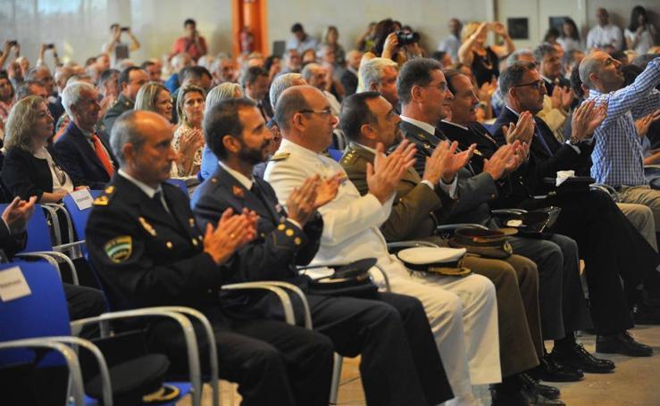 La celebración del día del patrón de la Policía Local en Málaga, en imágenes
