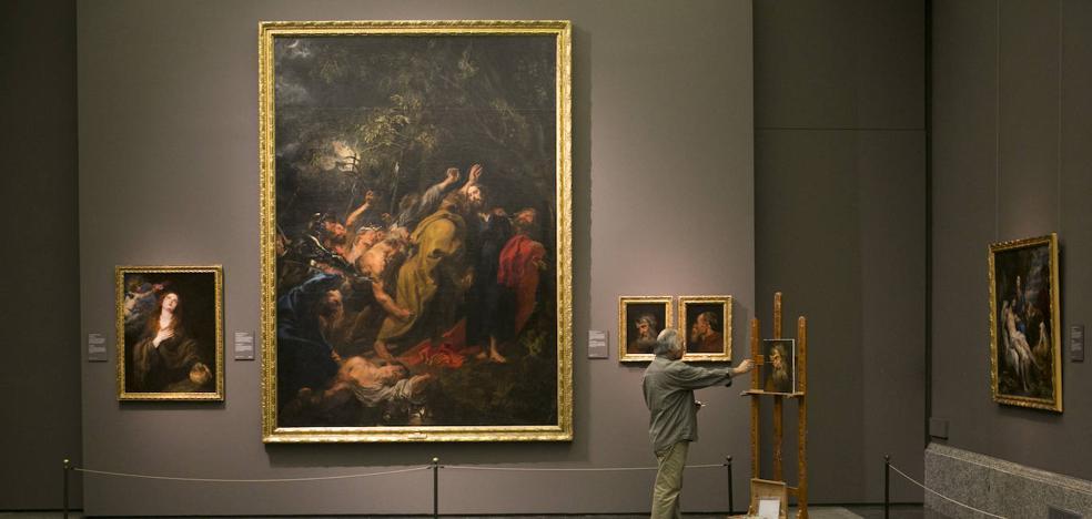 Los copistas del Prado