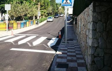 Rincón de la Victoria ejecuta mejoras de pavimentos rodados y peatonales en 15 viales