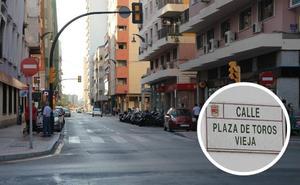 ¿Cuál es el origen del nombre de la calle Plaza de Toros Vieja de Málaga?