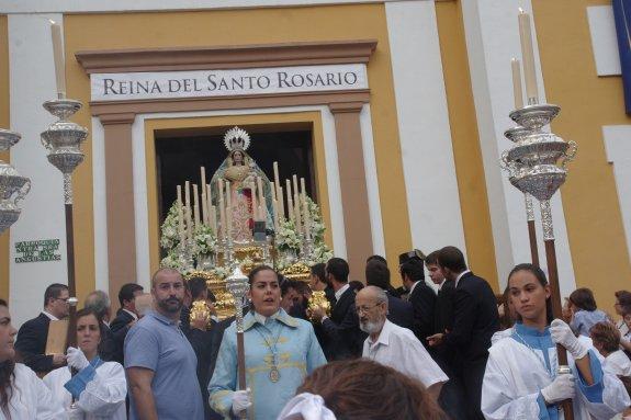 Tres procesiones y siete rosarios copan la agenda cofrade del mes de octubre