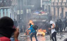 Estado de excepción en Ecuador por las protestas tras el alza de los combustibles