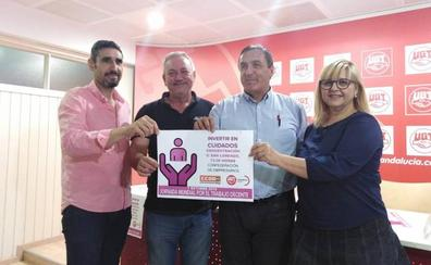 UGT y CCOO convocan una concentración el 7 de octubre contra la precariedad laboral en Málaga