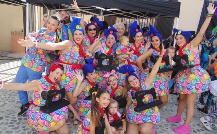 Málaga se vuelca con los actos para celebrar la Casa del Carnaval