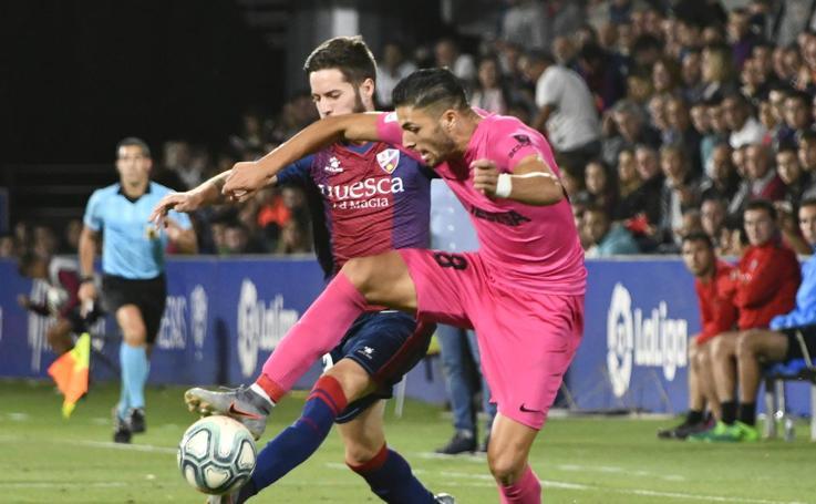 Las mejores imágenes del Huesca 2-0 Málaga