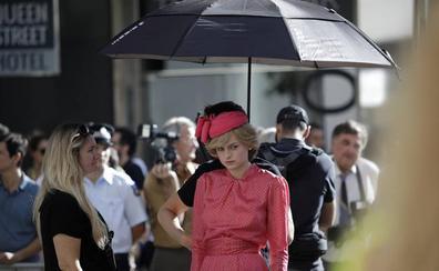 Lady Di, la sorpresa del rodaje de 'The Crown' en Málaga