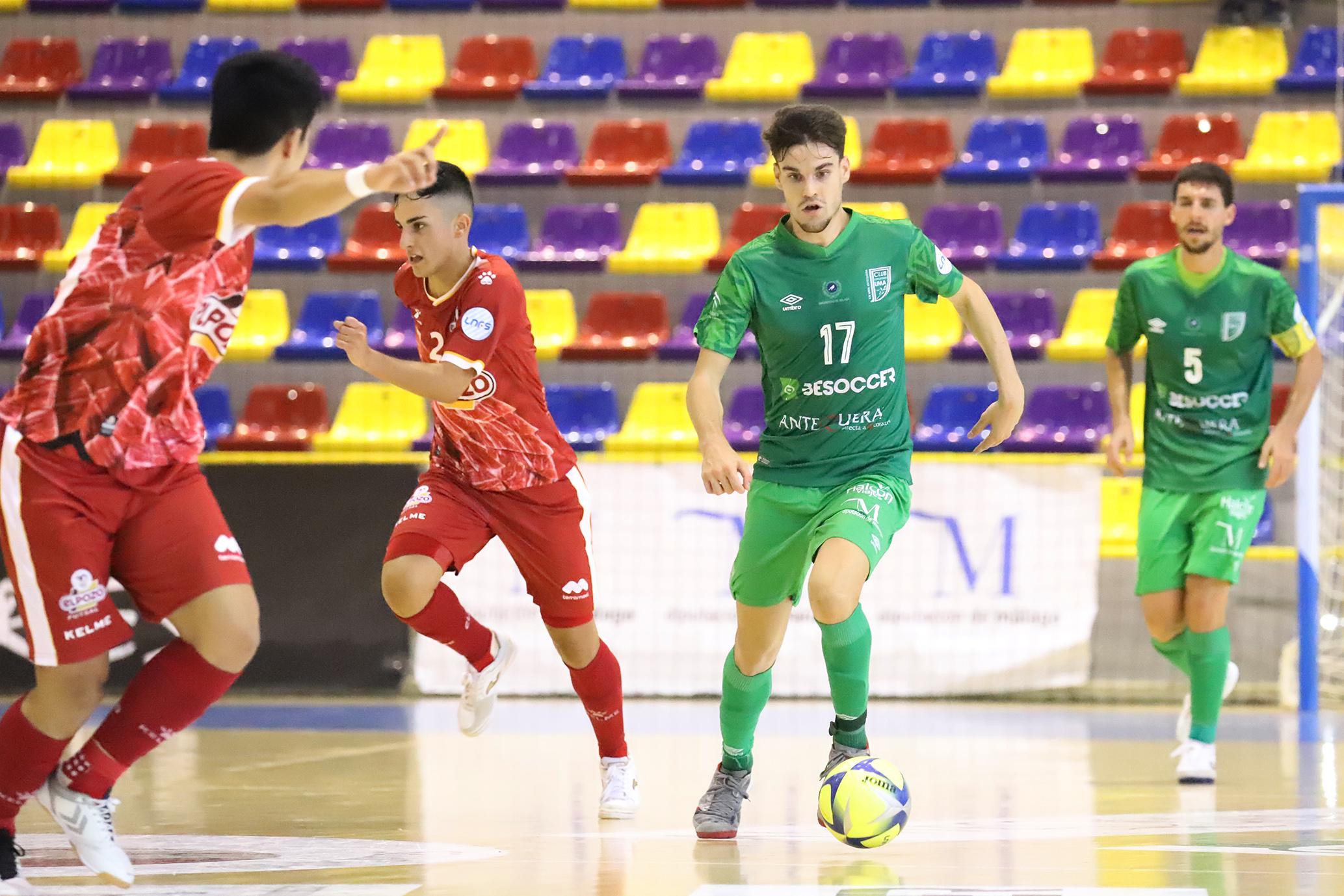 El BeSoccer UMA rescata un empate en Murcia (2-2)