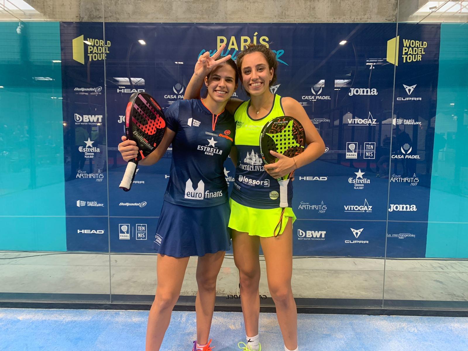 Bea González logra en el Challenger de París su primer título como profesional en el pádel
