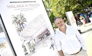 Luis Ruiz Padrón reivindica la «arquitectura tranquila» de Málaga