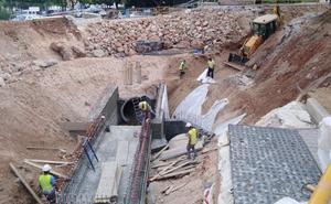 El centro de Alhaurín de la Torre tendrá el doble de capacidad de evacuación del agua de lluvia