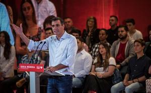 El líder socialista afirma que la oferta de Cs prueba que «el pánico hace milagros»